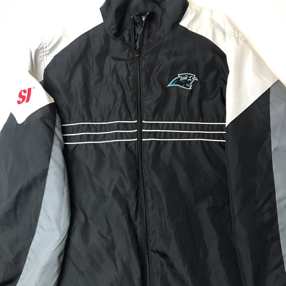 size 40 4f1bc 04c96 NFL Apparel Carolina Panthers jacket